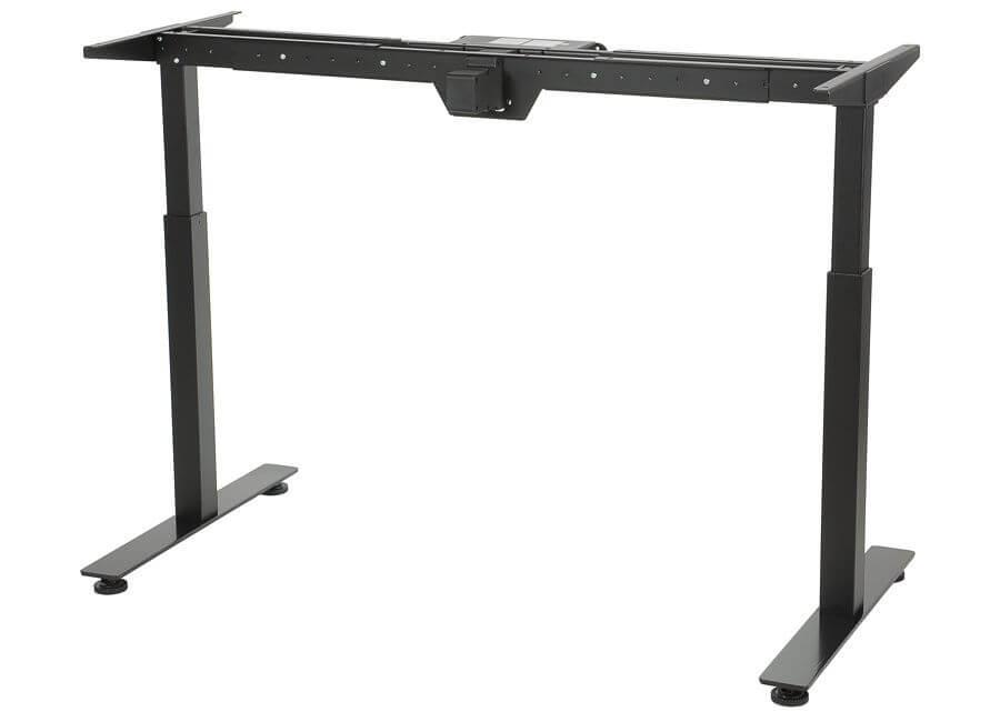 Stelaż elektryczny do stołu i biurka EF-STE-01T czarny - regulacja wysokości