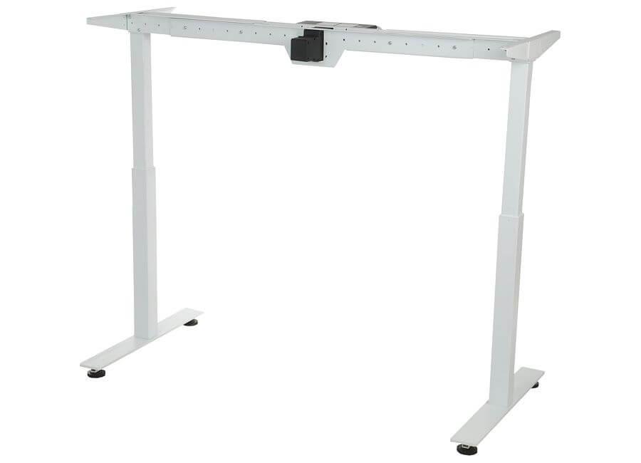 Stelaż elektryczny do stołu i biurka EF-STE-01T biały - regulacja wysokości